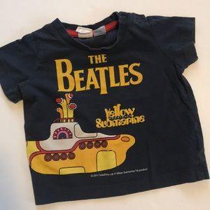 The Beatles Yellow Submarine Baby Tee 2-4 Months